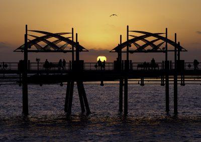 Redondo Beach Sunset by Jim Walker 76